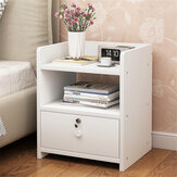 Simple Bedside Tables Multi Functional Lockers Drawers Side Table Bedroom Nightstand Home Furniture