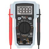 Multímetro Digital MUSTOOL MT66 True RMS 5999 Cuenta AC/DC Probador de Voltaje Corriente Frecuencia Capacidad Temperatura Ciclo de Trabajo Diodo Continuidad V ~ Medida de Alerta