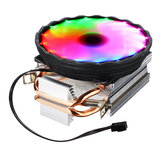 DC 12V Colorful Backlight 120mm CPU Cooling Fan PC Heatsink for Intel/AMD For PC Computer Case
