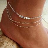 Grânulos de prata esterlina na moda Peúga