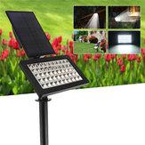 Énergie solaire 50 LED Lampe de contrôle de lumière extérieure imperméable pour jardin jardin paysager extérieur