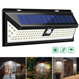 118 LED Solar Lamp Outdoor Garden Yard Waterproof PIR Motion Sensor Light
