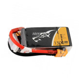 Gens Tattu 11.1V 1300mAh 45C 3S1P Lipo Battery With XT60 Plug For RC FPV