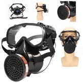 Facepiece Respirator Full Face Gas Mask Chemical Dust Breath Protective Filter