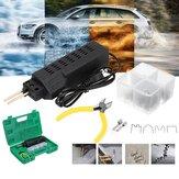 110V Car Bumper Plastic Welding Torch Tool Kit Welder Machine + 200 Stap +Pliers