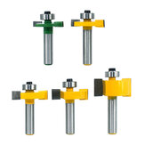 8mm Shank T Slot Router Bit With Bearing Wood Slotting Milling Cutter T Type Rabbeting Woodwork Tools for Wood