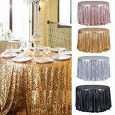 Napperonde47''nappepailletée nappe nappe banquet décoration de fête de mariage nappe