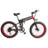 SMLRO S11 48V 10Ah 500W 26in Складной электрический велосипед 30 км / ч Максимальная скорость 60 км горный велосипед E велосипед