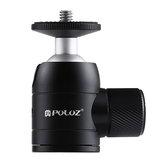 PULUZ PU384 Mini 360 graders rotationsmetalstativkuglehoved med 1/4 standard skruetråd