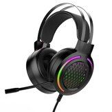 Bakeey M12 Gaming Headset 7.1 Surround Sound USB 3.5mm Wired RGB Light Gaming Headphones With Microphone For Tablet PC for PS4 Gamer