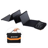 XMUND XD-SP1 60W Foldable Solar Panel Charger 2 USB+2 DC Handbag Solar Power Bank Outdoor Camping Hiking