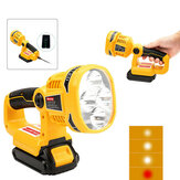 Para Dewalt DCL040N 18V Li-ion DCL043N Wireless Handheld LED Pivot / Torch Light