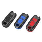 ABS Fibra di carbonio remoto Smart Car Key Case / Borsa Cover Fob Shell per Mazda 3/5/6 / CX3 / CX5