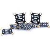 10 PCS Flywoo 16x16mm Insulation Board Short Circuit Protection for F3 F4 F7 Flight Controller 4in1 Brushless ESC RC Drone FPV Racing
