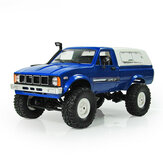 WPL C24 1/16 Набор 4WD 2.4G Военный Truck Crawler Off Road RC Авто 2CH Toy