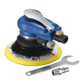 6 Inch Air Random Orbital Palm Sander Sanding Pad Vacuum Polisher
