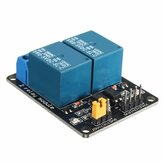 5V 2 Channel Relay Module Control Board With Optocoupler Protection Geekcreit for Arduino - products that work with official Arduino boards