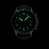WISHDOIT WSD-002 Fashion Men Kuarsa Perhiasan Luxury Luminous Business Jam Tangan