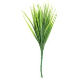 Artificial Plastic Green Grass Plant Flowers Office Home Garden Decor