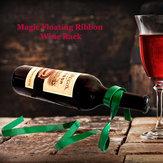 Magische Schwimm Ribbon Weinregal Wein Halter Flaschen hängend