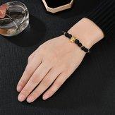 Retro Leopard Beaded Bracelet