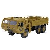 JJRC Q75 1/16 2.4G 6WD RC Car Military Truck Veicoli fuoristrada elettrici Modello RTR