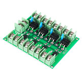 F5305S Mosfet Module PWM Input Steady 4 Channels 4 Route Pulse Trigger Switch DC Controller E-switch MOS FET Field Effect Switch