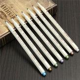 Floresan Renkli Markör Metalik Keçe İpucu Mürekkep Kalemleri Kart Yapma El Sanatları Scrapbook