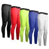 Celana Olahraga Pria Lapisan Dasar Celana Ketat Kompresi Celana Panjang Untuk Pelatihan Kebugaran