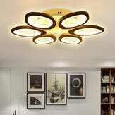 Modern Circle Ring Ceiling Light Lamp Acrylic Stepless Indoor 780 LED Chandelier