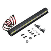 36LED Super Bright LED Light Bar Roof Lamp Set for 1/10 Traxxas TRX4 SCX10 90046 Crawler Rc Car