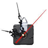 12mm Quartz Silent Clock Movement Mechanism DIY Wall Clock Hour Minute Second Hand without Battery