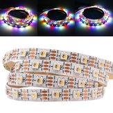 1M 5M WS2812B 5 pinos RGBW RGBWW 4 IN 1 LED Strip Light não impermeável DC5V