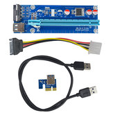 Segotep 0.6m USB 3.0 PCI-E Express 1x para 16x Extension Cable Extender Riser Card Adapter for Mining