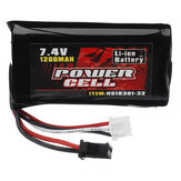 HS 7.4V 1200mAh 25C 2S Li-ion Battery for 18301 18302 18311 18312 18322 RC Car