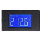 Multifuncional AC LCD Tensão Digital Tester de Corrente KWh Watt Painel Bateria Medidor de Medidor