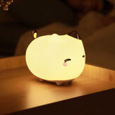 Baseus Cat Night Light USB Recarregável Touch Sensor LED Lamp 3 Modos Control Light Night Lamp Decorativa da Xiaomi Ecological Chain