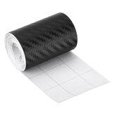 Adesivo protetor de fibra de carbono para proteção contra arranhões da porta do carro tira anti-arranhões