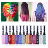 13 couleurs DIY mascara cheveux One-Time Dyes Temporaire Non-toxique
