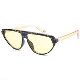 Leopard Triangle Small Frame Sunglasses Outdoor Eyewear