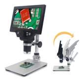 MUSTOOL G1200 Microscopio digitale 12MP 7 Pollici Schermo a colori grande Base grande LCD Display 1-1200X Continuo