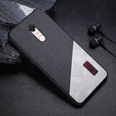 Bakeey Luxury Fabric Splice Soft Silicone Edge Shockproof Protective Case For Xiaomi Redmi 5 Plus