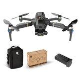 KAIONE Pro / Max 5G Wifi 1KM FPV Com Gimbal de 3 eixos para evitar obstáculos para câmera 8K GPS Drone RC sem escova EIS Quadricóptero RTF