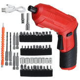 45 in1 Electric Screwdriver Drill Kit USB Rechargeable Wireless Kit Power Tool