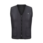 Männer Winter Intelligente Weste Elektrische Heizung USB Sleeveless Weste Temperature Control