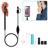 HD Ear Spoon Endoscopic Set Earwax Clean Otoscope Camera 1.3mp CAM