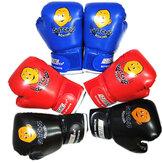 Luvas de boxe para crianças Luvas de treinamento de MMA para desenhos animados para crianças de 3 a 10 anos
