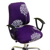 Elastische stoelhoes Home Office-stoel Rugleuning beschermerset Hoes decoratie Bescherm kussenbenodigdheden