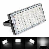 50W Black Shell LED Flood Light Impermeabile White Light Landscape Garden lampada per Outdoor AC185-265V