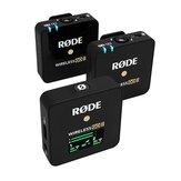 Rode Wireless Go II 2.4G Kablosuz Yaka Mikrofonu Mikrofon Sistemi Android Telefonlar için Kamera Dizüstü Bilgisayar 200m İletim